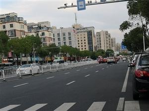 聚贤路不足几百米设置了三个斑马线