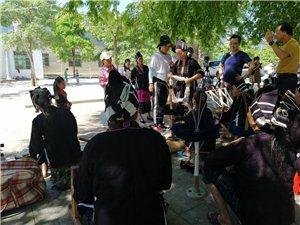国家级非遗黎锦纪录片在东方玉龙村开拍