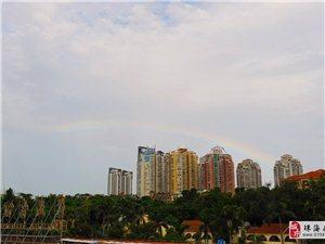 今早,珠海出现绝美双彩虹,你?#20449;?#21040;吗?可以分享一下吗?