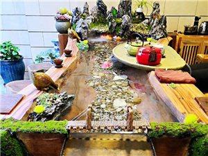 出售流水茶桌长3.6米流水招财