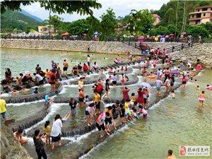 揭西县关山村网红溪水美景打卡