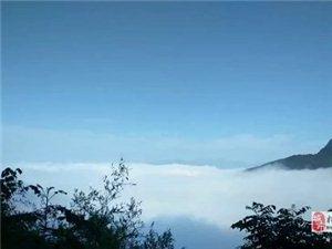 雨后初晴的飞灵山