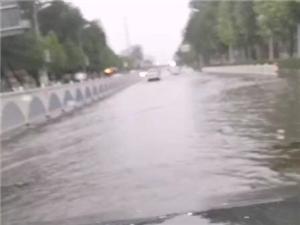 ��坻有一�l河叫��Y河~好大的雨