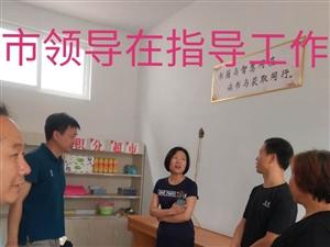 许昌市文化旅游局领导及美高梅平台县文化旅游局的领导们来我村调研