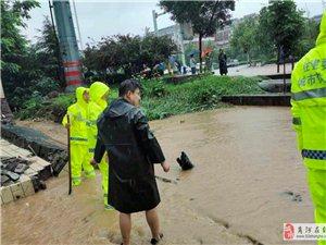 商河县领导带队督战防汛防台风工作商河县全力守护群众生命财产安全
