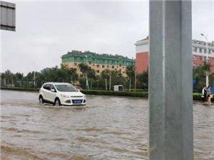 博兴今日暴雨最新状况,出行大家一定要注意安全……