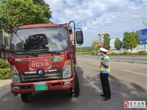 交警大队持续整治城区交通秩序