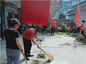 志愿者服务进街道