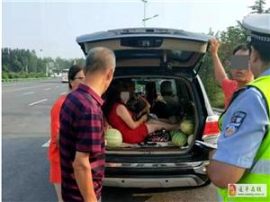 """河南高速交警曝光""""六类危险超员车"""""""