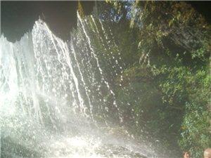 《螺髻山九十九里瀑布温泉》