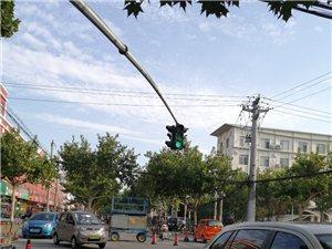 博兴胜利二路红绿灯在更新,路过的请注意安全!尤其是开车的亲们……