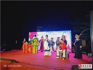 昨晚南京溧庆黄梅戏剧团演出花絮。