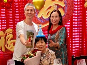 婆婆74岁大寿:祝婆婆福如东海、寿比南山!