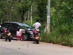 突发!寻乌大路下出一交通事故,出行安全第一!