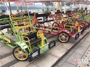 观光自行车带摊位全部转让