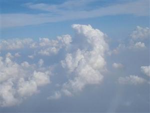 高空看云云更美