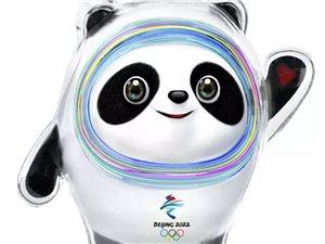 """在北京首�冰球�^,2022年北京冬�W��吉祥物""""冰墩墩""""揭�_面�,北京2022年冬�W��的�I�k又迎�砹艘�"""