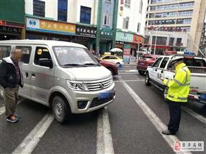交警大队扎实开展城区交通安全治理工作