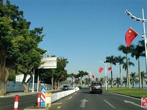 �@�滋彀l�F珠海的大街小巷,情�H路上到���M��旗。