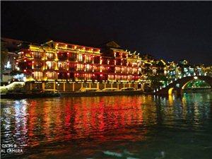 �P凰古城的夜