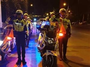 焦作交警以实际行动给祖国的70华诞献礼