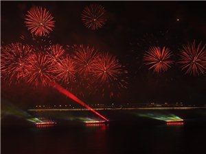 珠海市�c祝中�A人民共和��成立70周年焰火晚��,拍�zk地�c:珠海度假村酒店天海��