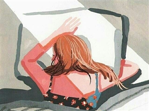 睡了一下午,醒的�r候屋子里黑漆漆