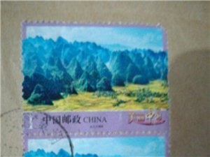 这一枚邮票