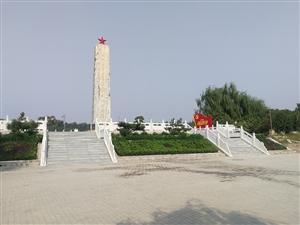 """市国家安全局机关工作人员,在周恩来纪念园(滨州)参观瞻仰,进行""""不忘初心,牢记使命""""主题党日活动。"""