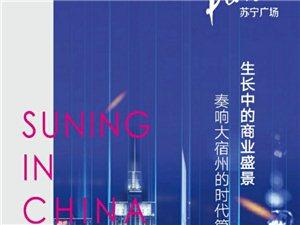 宿州苏宁广场商铺写字楼(商住两用)提前预约享受额外团购开盘优惠