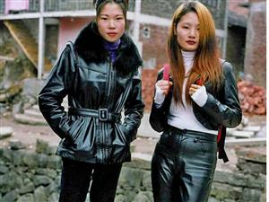老照片,回忆90年代的穿衣时尚
