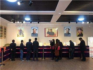张家川在线受邀见证宣传红色文化收藏展