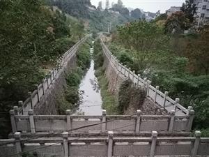 半边城下边,育红桥河