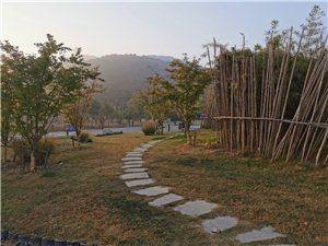 清晨徒步享受大自然的美好