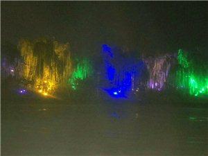夜色中的人民公园――美不胜收