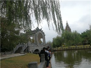 龙翔广场有人管吗?周六周日两天,特别多小孩,拿着柳树去吓鱼