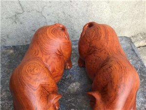 各种红木摆件