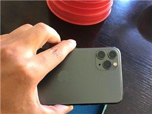 IPhone11promax256G暗夜绿,用了10天,我想换11pro256G