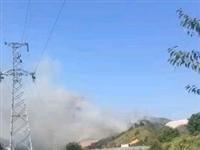 寻乌又发生火烧山,现场浓烟滚滚!天气干燥,请注意防火安全!
