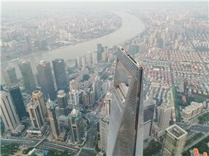 站在中国最高楼