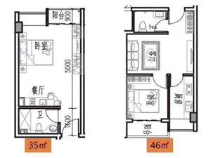 首付一万买花语城公寓