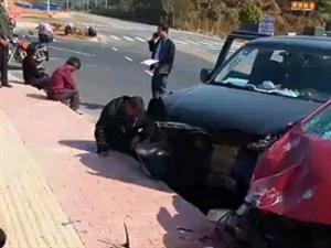 发生严重车祸,谨慎驾驶,慢行礼让三先!
