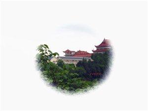 盐亭风光:�L灵寺