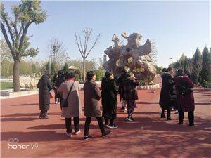 德州庆云的朋友们,在周恩来纪念园(滨州)参观游览瞻仰活动。