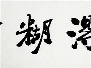 刘佑风书法作品欣赏。