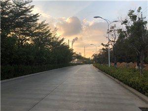 滨海路清晨骑行!