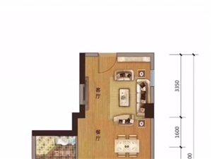 出售郡王府公寓,54平26万,一手房手续