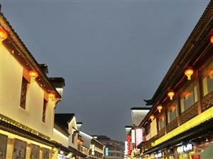 夜游秦淮河
