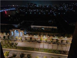 �S手拍+城市的夜景