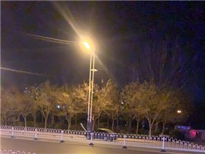 黄河八路渤海十路建设小区门口